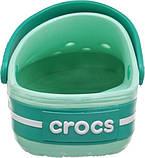 Кроксы мужские шлепанцы сабо Крокбенд оригинал / Crocs Crocband Clog (11016), Мятные, фото 10