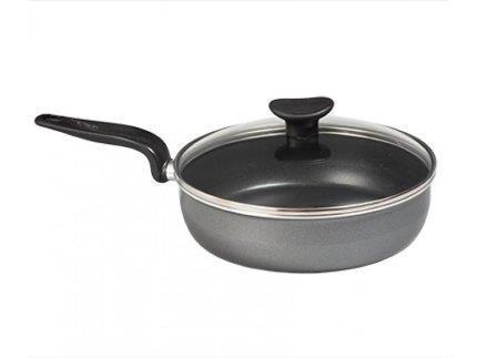 Сковорода з кришкою Tefal Minute 24 см Алюміній (04172224)