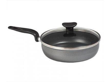 Сковорода з кришкою Tefal Minute 24 см Алюміній (04172224), фото 2