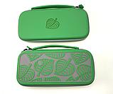 Комплект сумка чохол Deluxe Animal Crossing кейс для Nintendo Switch + скло + накладки на стіки, фото 3