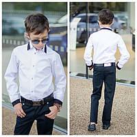 Рубашка для мальчика  на кнопках, фото 1