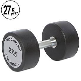 Гантель цельная профессиональная TECHNOGYM (1шт) 27,5 кг TG-1834-27_5