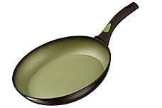Сковорода Ardesto Avocado 28 см Алюміній Зелений (AR2528FA), фото 3