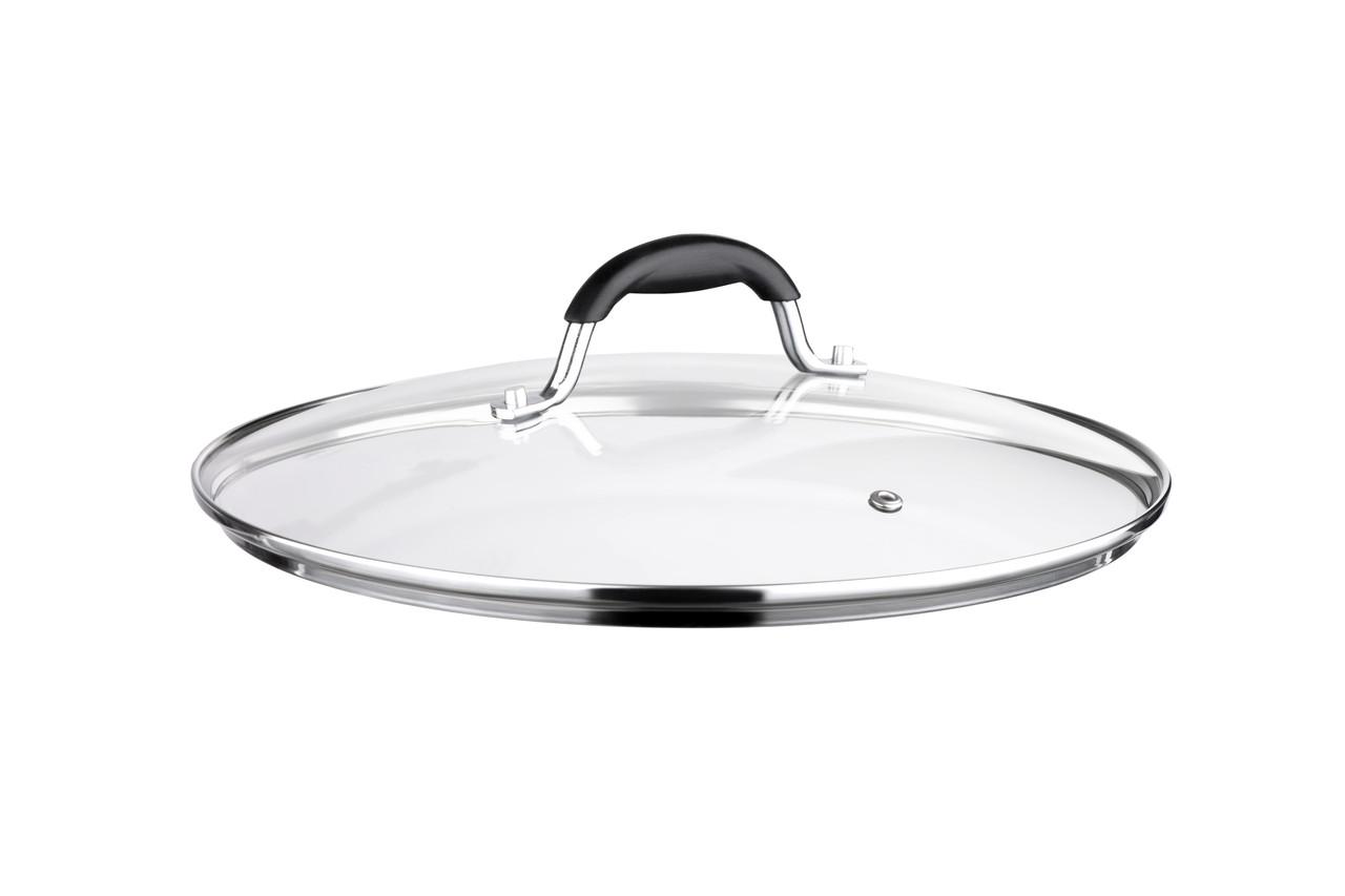 Кришка для сковороди Ardesto Black Mars 28 см Скло (AR0728SL)