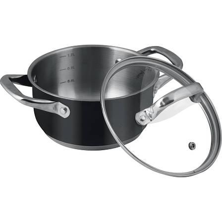 Кастрюля Lamart LT1145 1.6 л Нержавеющая сталь, фото 2