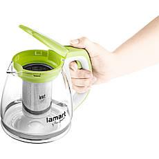 Чайник Lamart LT7026 1.1 л Скло, фото 3