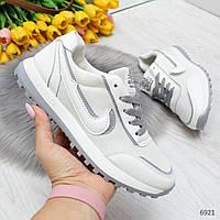 Легкие повседневные летние белые женские кроссовки