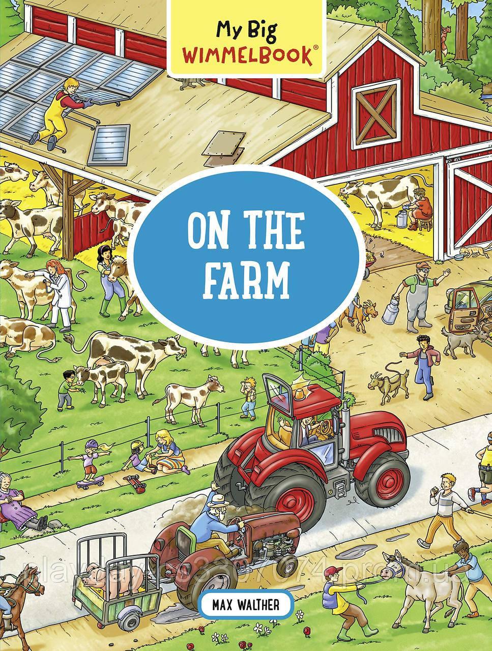 "Книга Виммельбух ""На ферме"" (Америка) On the Farm"