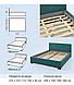 Кровать Мальта 2 1.8 НСТ, фото 2
