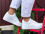 Женские кроссовки Nike Air Force (белые) 9711, фото 2