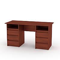 Письменный стол для школьника. Стол письменный длинный. Декан-3: ш: 1400 мм. в: 736 мм г: 600 мм