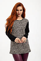 Джемпер женский 103R142 цвет Леопардовый