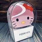 Електрична щітка-масажер для чищення особи Forever Рожева, фото 2