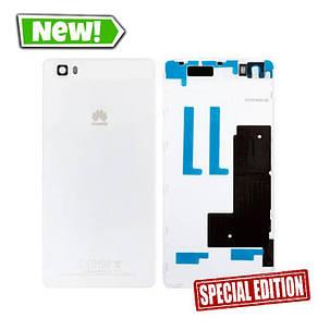 Задня кришка Huawei P8 Lite, Nova Lite (2016), білий, фото 2