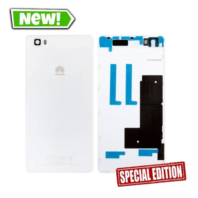 Задня кришка Huawei P8 Lite, Nova Lite (2016), білий