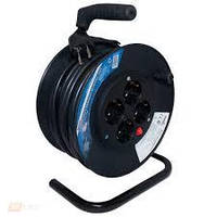 Удлинитель электр-й на катушке 25 м/3х1.5мм2, 4 гнезд, SCHUCKO с заземл. BEMKO