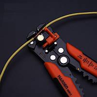 Профессиональный автоматический стриппер для зачистки проводов 200мм Harden Tools 660613