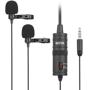 Конденсаторний петличний мікрофон BOYA BY-M1DM