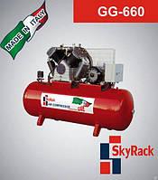 Компрессор поршневой с ременной передачей 500л 380В Skyrack