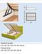 Кровать Альфа 1.8 НСТ, фото 2
