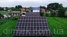 "Сонячна мережева електростанція  ""36,45 кВт"", (Risen/Huawei)"
