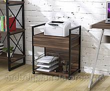 """Тумба мобильная под принтер в офис """"L-540"""" Loft Design"""