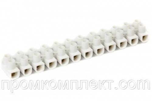 Клеммная колодка 6А PA 6мм2 (кратно упаковке — 10 шт.) APRO