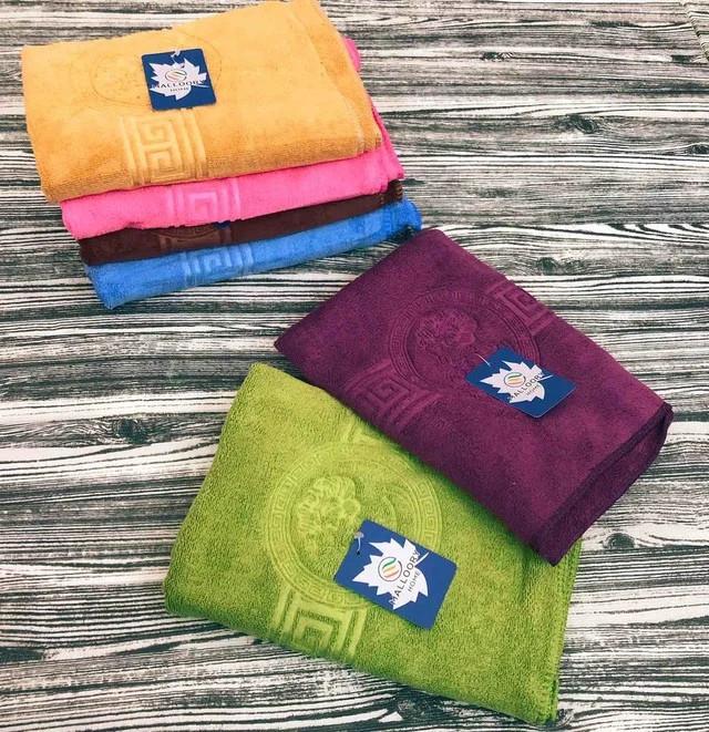 Махровое полотенце для лица и рук из микрофибры