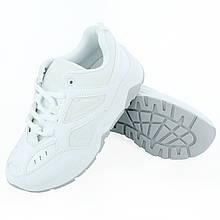 Белые женские кроссовки текстиль Sport, размер 40