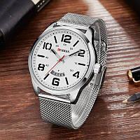 Часы мужские Curren LeRoy silver-white