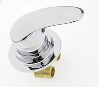 Змішувач для гідромасажної ванни й прихованого монтажу (ДЖ-6101) вбудовується в виріб
