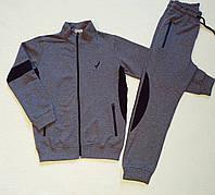 Спортивный костюм для мальчика темно серый Размеры 128 134 140 146, фото 1