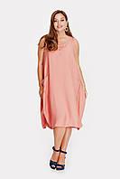 Платье PEONY Мессина 56 Розовый 2506191, КОД: 1579970
