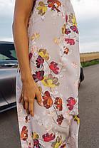 Платье-комбинация в цветочный принт, фото 2