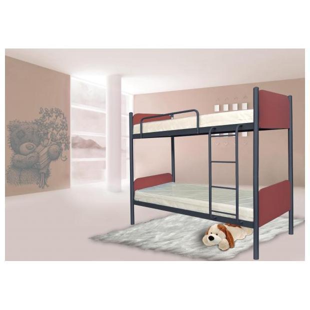 Двухъярусная кровать Арлекино 80х190 см. Металл-Дизайн