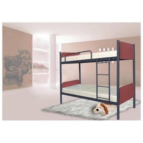 Двухъярусная кровать Арлекино 80х190 см. Металл-Дизайн , фото 2