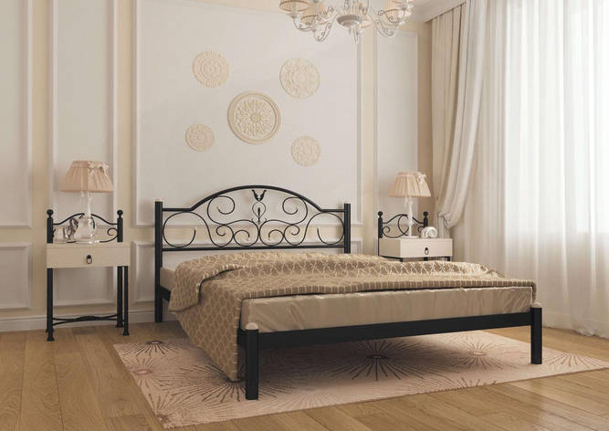 Кровать Анжелика 140х200 см. Металл-Дизайн , фото 2