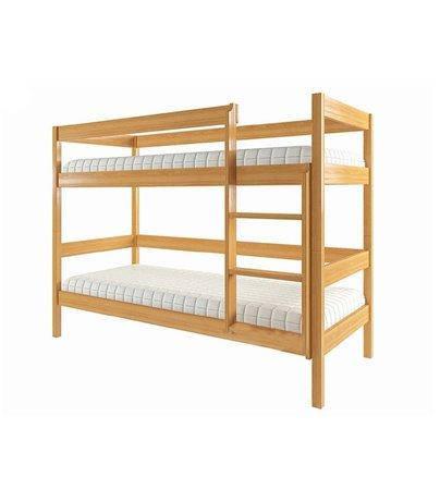 Кровать двухъярусная из массива дерева Еко 1, фото 2