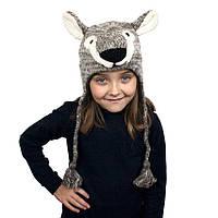 Шапка с ушками детскаяAnimals Koala Kathmandu Оne size Серый 22942, КОД: 1597252