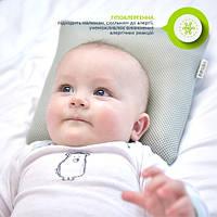 Детская ортопедическая подушка (сетка) 28х28х9см от 6 до 18 месяцев