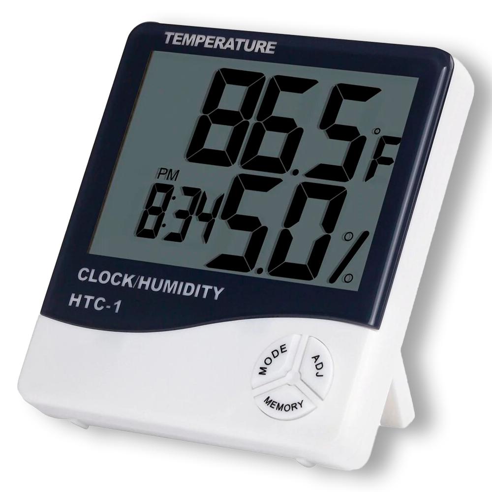 цифровой термометр-гигрометр  HTC-1,