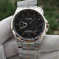 Часы Citizen CB0166-54H Eco Drive Atomic World Time Perpetual Calendar, фото 1