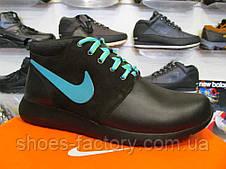 Кроссовки мужские зимние Nike Roshe Run Mid, фото 2