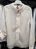 Костюм для дівчинки INCITY ( Блуза і Спідниця) шкільний, пр-Туреччина, колір - Кремовий, фото 1