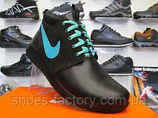 Кроссовки мужские зимние Nike Roshe Run Mid, фото 3