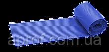 Протиковзка стрічка гумова (3000х195 мм), Синя