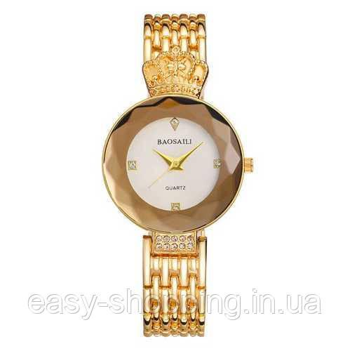 Женские Оригинальные наручные часы Baosaili Gold-White