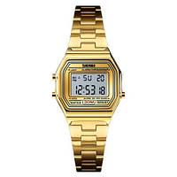 Женские Оригинальные наручные часы Skmei 1415 Gold