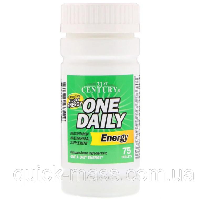 Витамины 21st Century One Daily Energy 75 tab