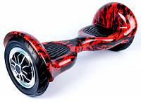 ГИРОСКУТЕР SMART BALANCE PREMIUM PRO10 дюймов Wheel Красное пламя TaoTao APP автобаланс, гироборд Гіроскутер